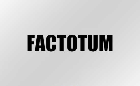 ファクトタム セール FACTOTUM SALE
