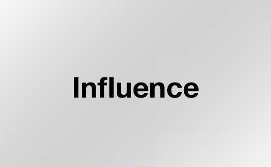 インフルエンス セール influence SALE