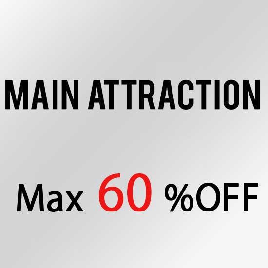 メインアトラクション セール MAINATTRACTION SALE