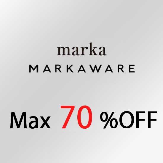 マーカウェア セール MARKAWARE SALE