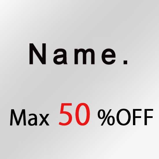 ネーム セール Name SALE
