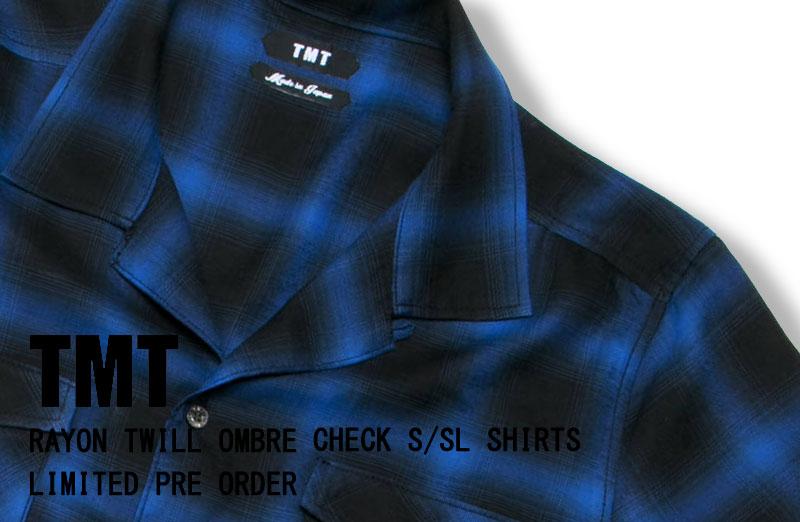 TMT オンブレーチェックシャツ 先行予約 通販