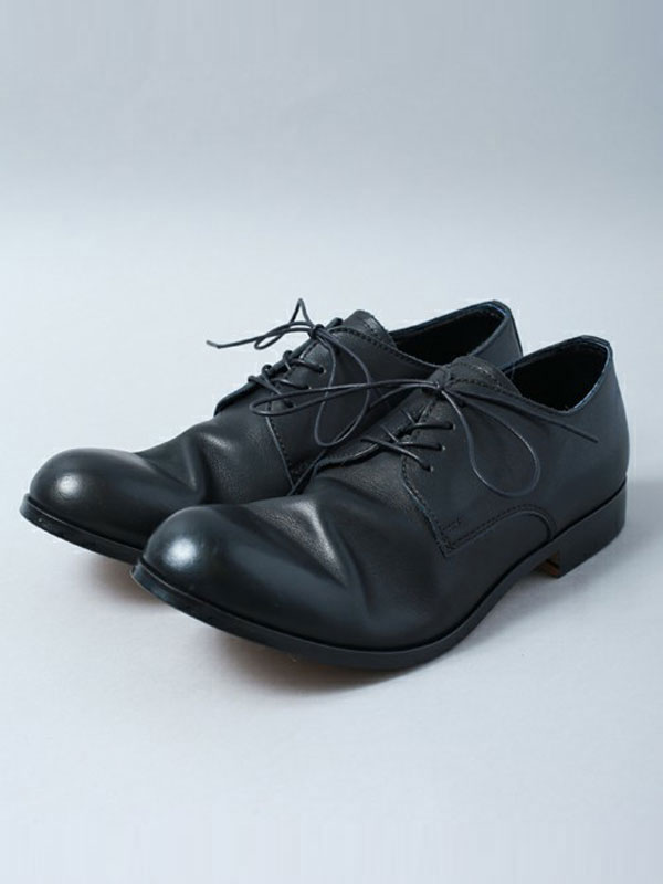 パドローネ PADRONE  DERBY PLAIN TOE SHOES